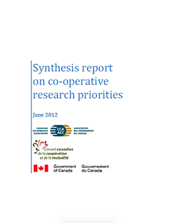 Synthesis report on co-operative research priorities